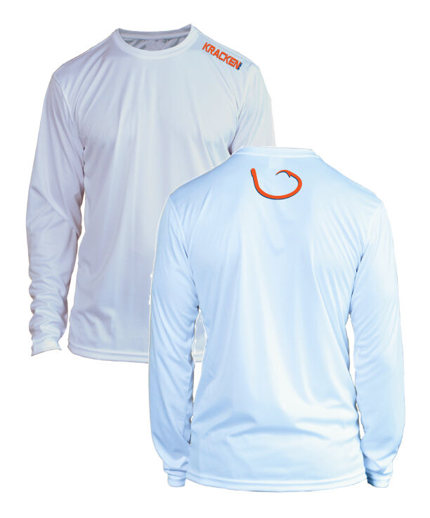 microfiber long sleeve fishing shirt upf 50 florida gators