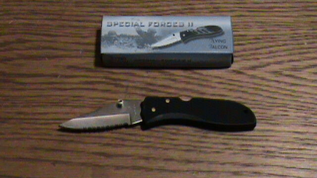 Flying Falcon Special Forces II Pocket Knife | eBay