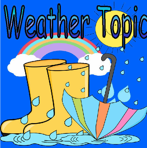 Art Ideas Ourselves Topic: WEATHER Topic Teaching Resource Weather Chart EYFS KS1