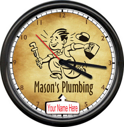 Plumbing Plumber Tools Retro Vintage Personalized Your