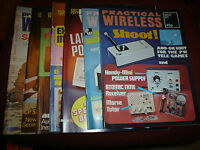 VINTAGE PRACTICAL WIRELESS MAGAZINES 1977 YOU CHOOSE YOUR ISSUE/S