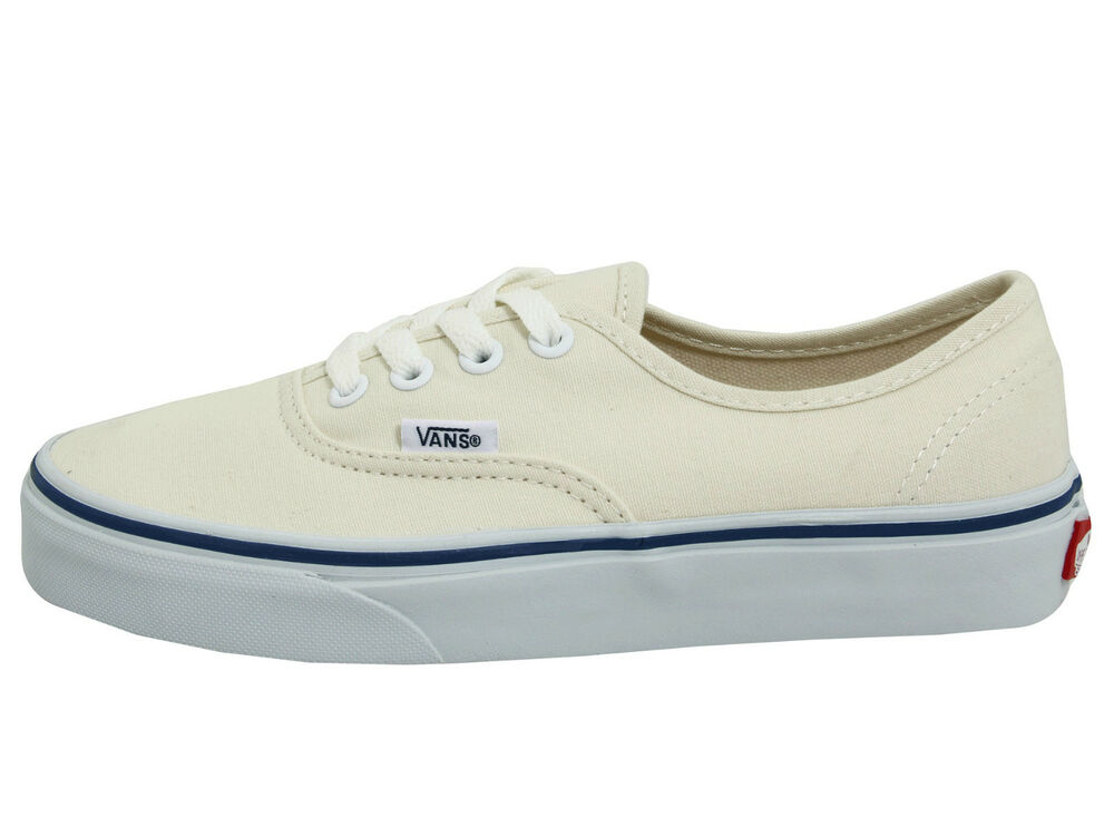 VANS AUTHENTIC OFF WHITE Core Classics UNISEX Cream Casual Skate VN-0EE3WHT | eBay