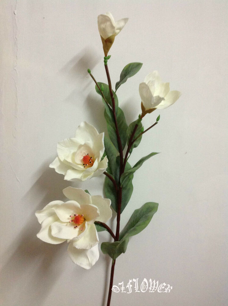 Artificial Plants Amp Flowers Wedding Flower Magnolia Stem