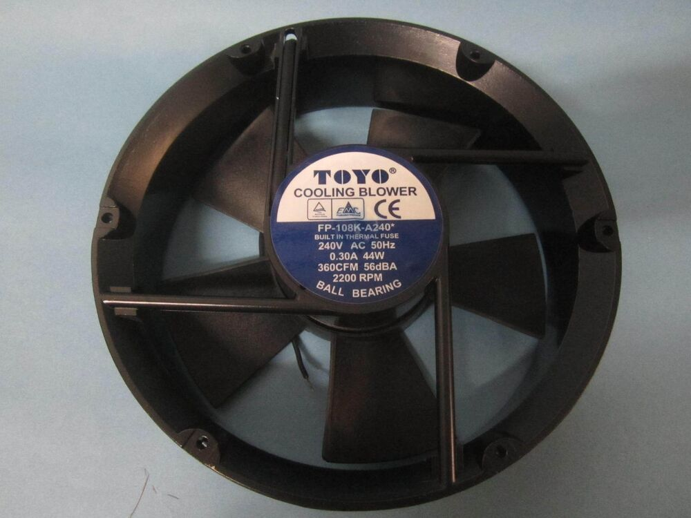 Commercial Blower Bearings : New toyo cooling air blower fp k a v cfm rpm