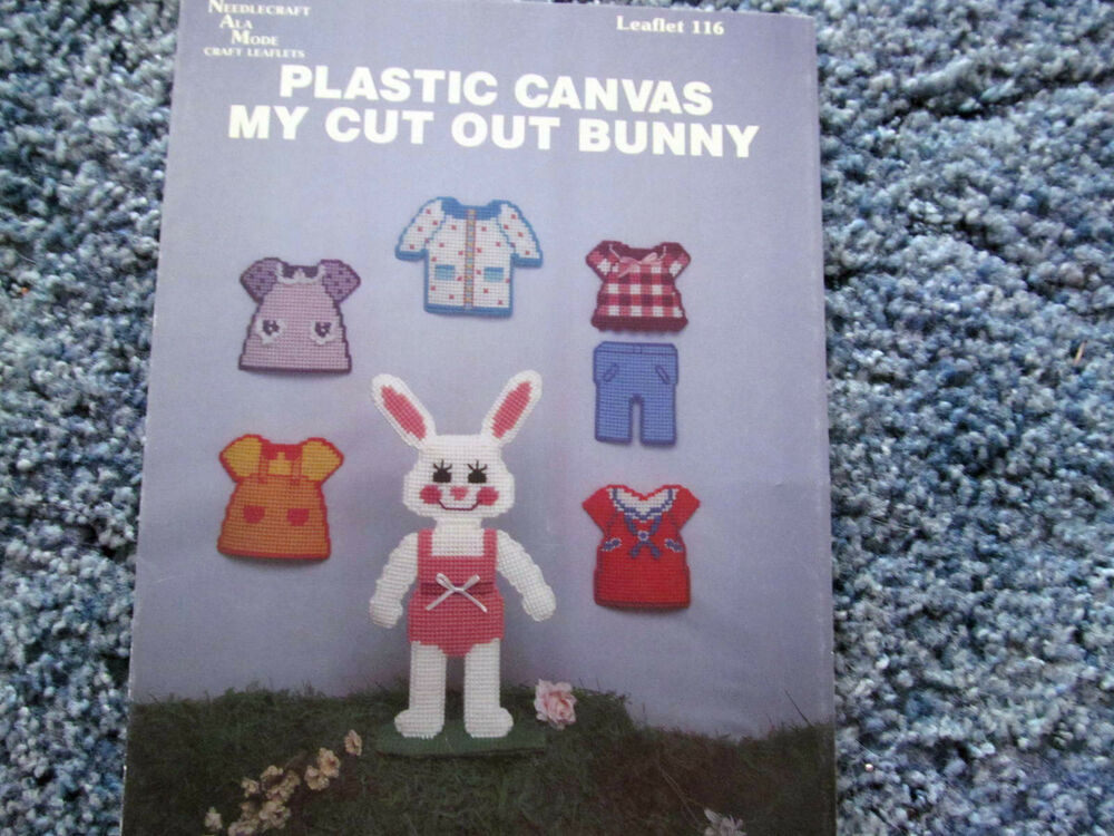 how to cut plastic canvas patterns