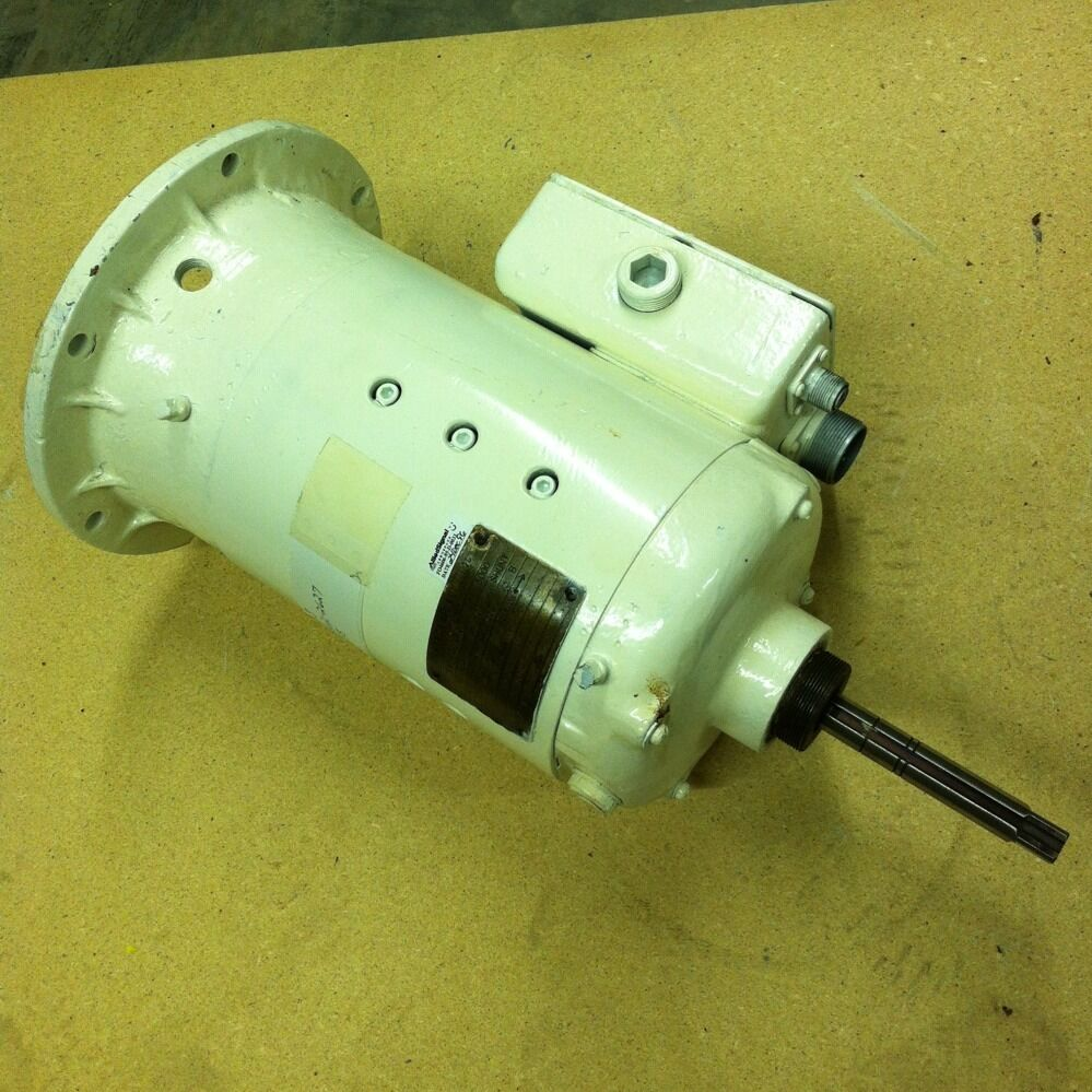 General electric dc motor 1 hp 5000 rpm 5bby49ab6 5 8 for 1 8 hp electric motor