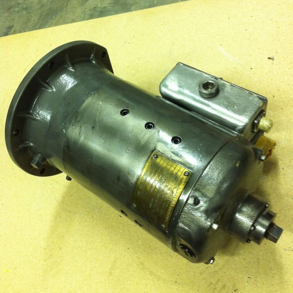 General Electric Dc Motor 1 Hp 5000 Rpm 5bby49ab6 5 8