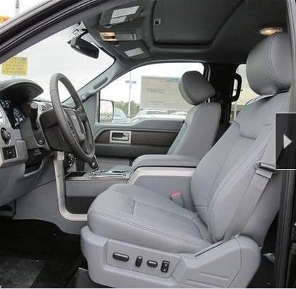 2013 ford f150 xlt stx super crew leather interior seat covers ebay. Black Bedroom Furniture Sets. Home Design Ideas