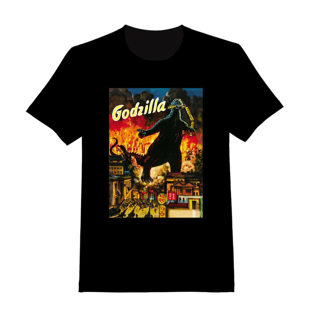 godzilla 4 custom youth t shirt 173 ebay