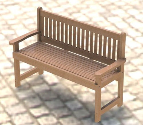 English style garden bench woodworking project plans for Diy garden bench designs