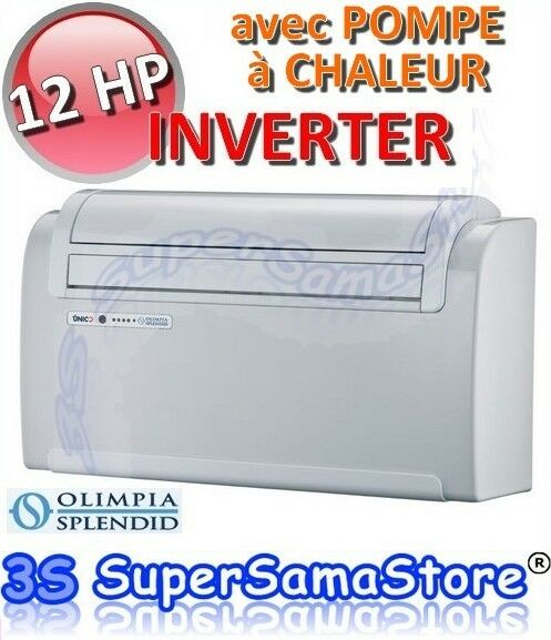 3s climatiseur unico 12 hp inverter avec pompe chaleur sans unit ext rieur 8021183010527 ebay. Black Bedroom Furniture Sets. Home Design Ideas