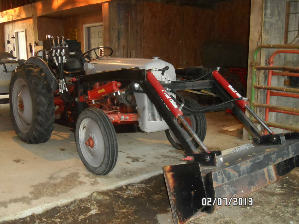 1951 Ford 8n Tractor With Front End Loader Ebay