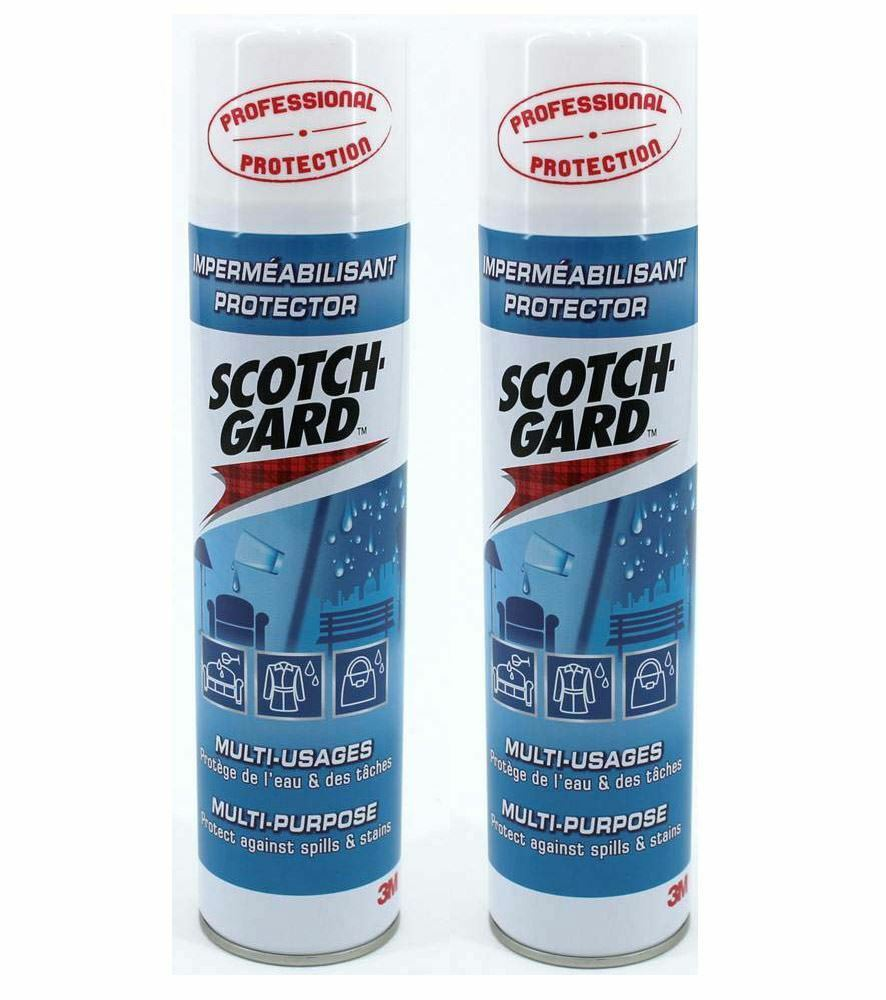 2 x 400ml scotchgard furniture clothing protector scotchguard free uk postage ebay. Black Bedroom Furniture Sets. Home Design Ideas