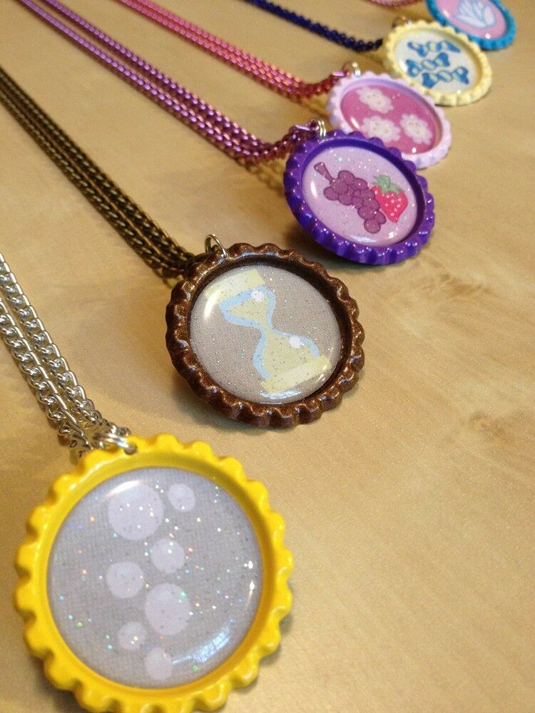 My little pony mlp friendship is magic necklace ponyville and canterlot ponies ebay for Little pony watches
