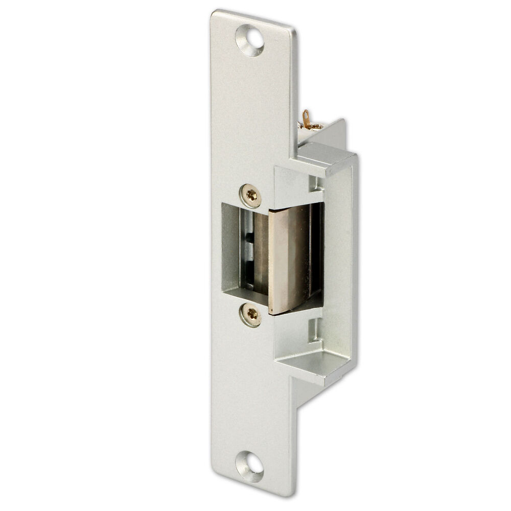 Door Access Control : Fail secure no mode electric strike lock for wood metal