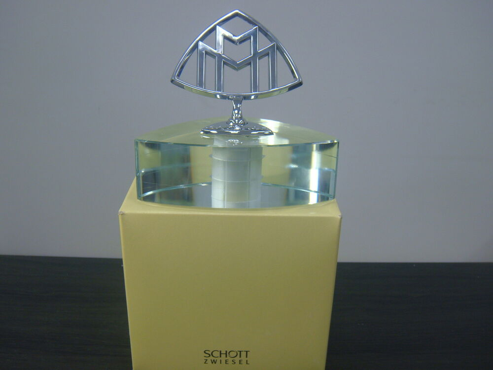 ultra rare schott zwiesel maybach crystal paperweight for maybach ebay. Black Bedroom Furniture Sets. Home Design Ideas