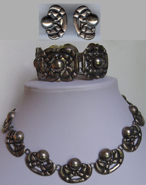 vintage mexican silver jewelry eBay