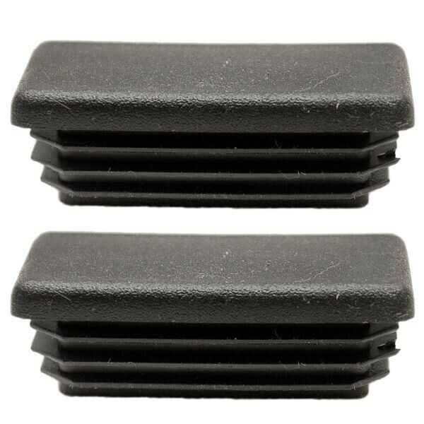Tracker Marine 136498 Black 1 5 8 X 5 8 In Pontoon Boat Ladder End Caps Pair Ebay