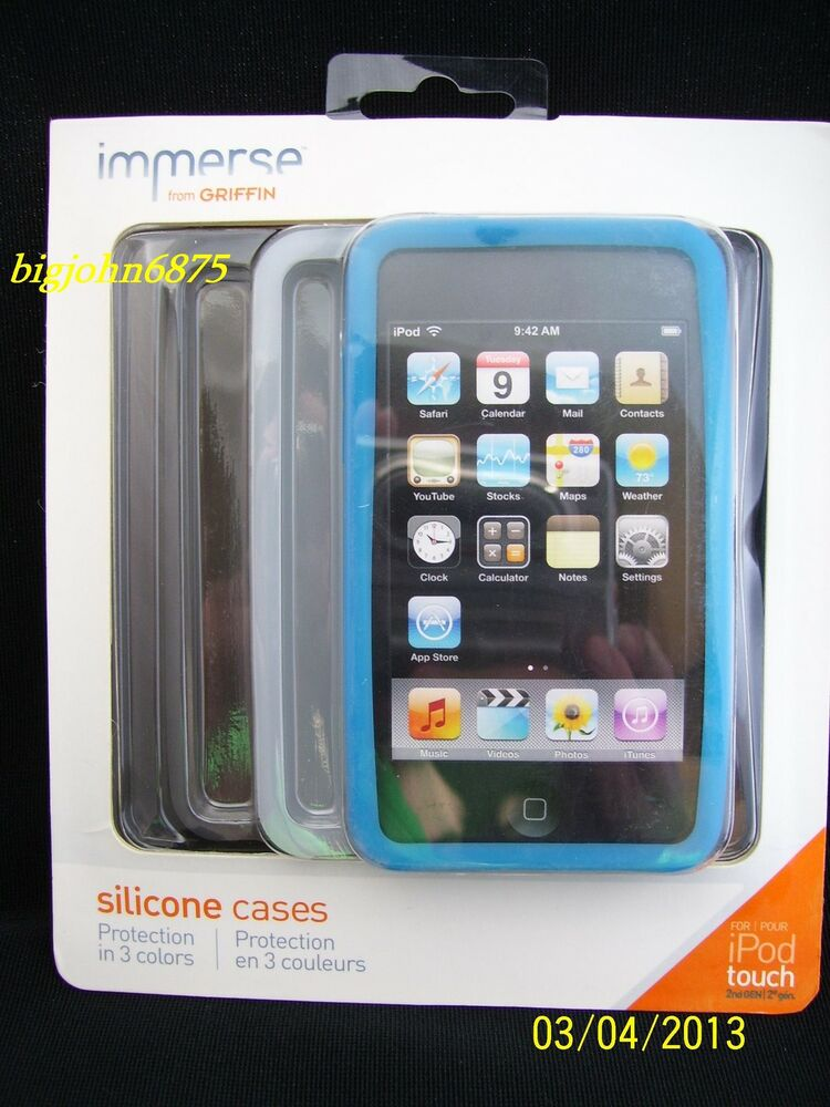 Ipod Touch 2nd Generation Disney Cases Griffin immerse...