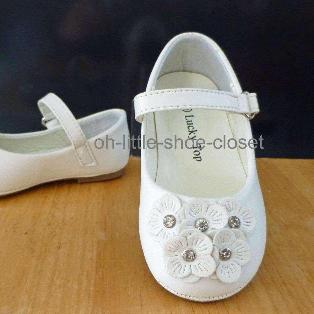 White Dress Leather Walking Baby & Infant Toddler Shoes