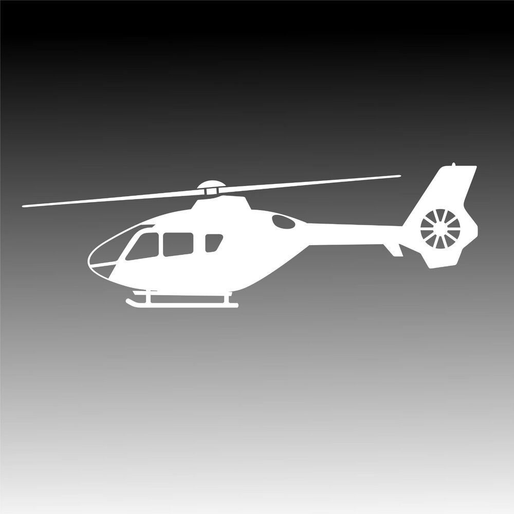 ec 135 helicopter profile decal eurocopter ec135 mechanic
