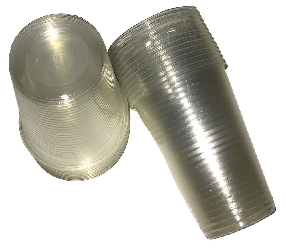 Clear Plastic Cups 7oz For Water Coolers Vending