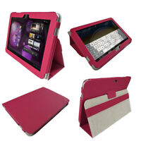 Pink PU Leather Case Cover for Samsung Galaxy Tab 10.1 3G & WiFi P7510 Android