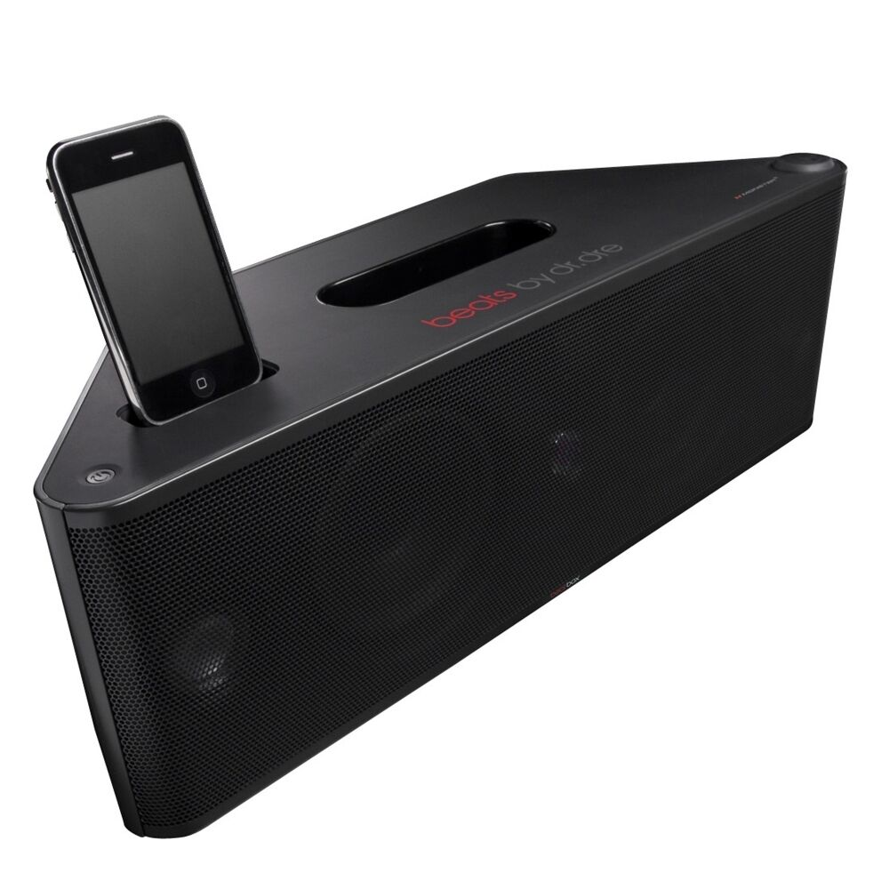 ... Beats by Dr Dre Sound Dock iPod iPhone Docking Station Speaker | eBay