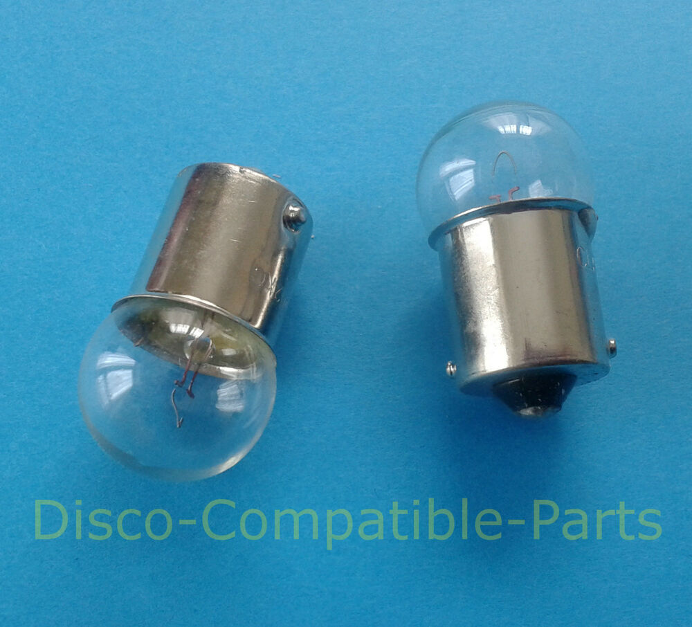 Pair Of Clear Front Indicator Lights For Land Rover: Land Rover Defender Front Side Light Bulbs (pair) For