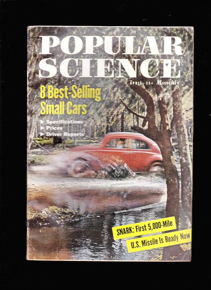 Best Selling Car Model In Each Us State 2013 960x1570: April 1958 Popular Science Magazine- Best Selling Small