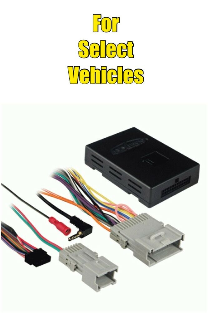 Wiring Harness Adapter For Gm Vehicles : Metra gmos gm onstar bose chime car radio replacement