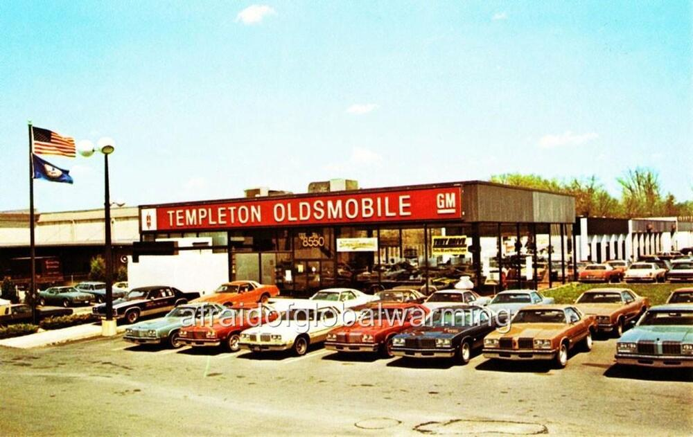 Photo 1970s Vienna Virginia Templeton Oldsmobile