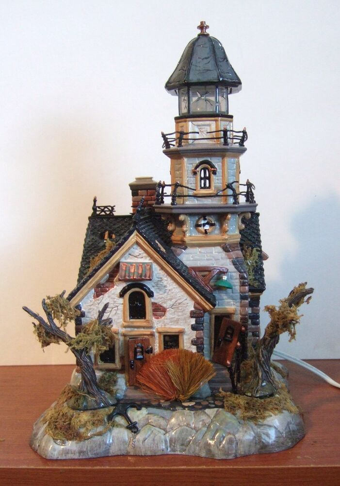 56 Best Images About: Dept 56 Halloween Shipwreck Lighthouse #55088 NIB (Y375