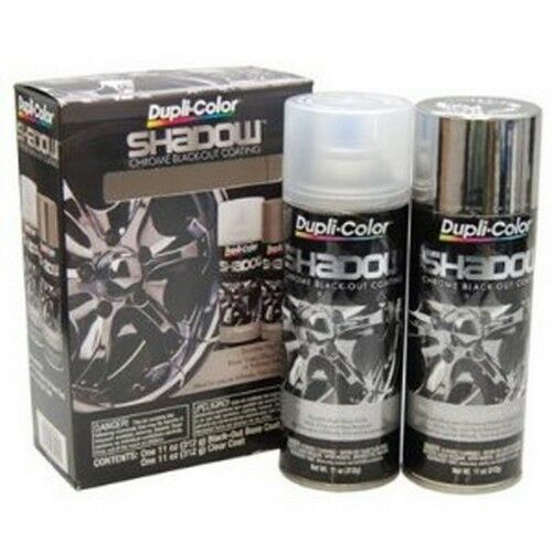 Black Chrome Aerosol Paint