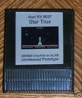 STAR TRUX 1982 Rev Cartridge 400/800 only Atari