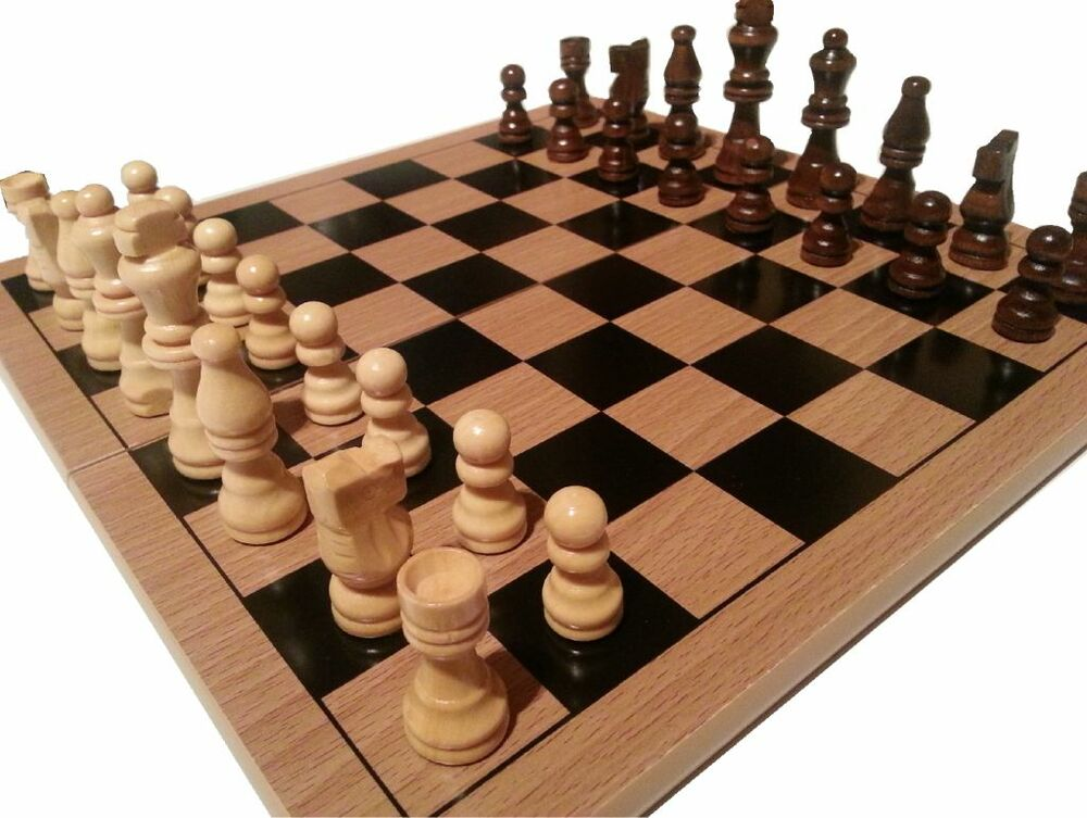 Traditional Chess Board And Pieces Great Quality Low