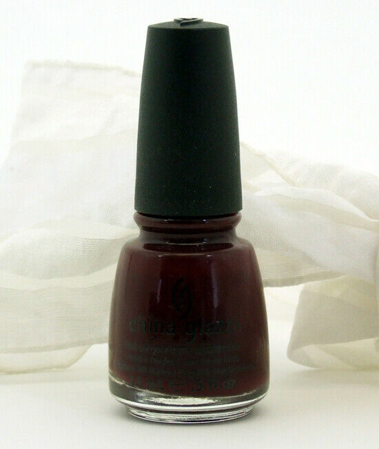 Deep Wine Nail Polish: China Glaze Nail Polish Lacquer Velvet Bow .5 Oz Deep