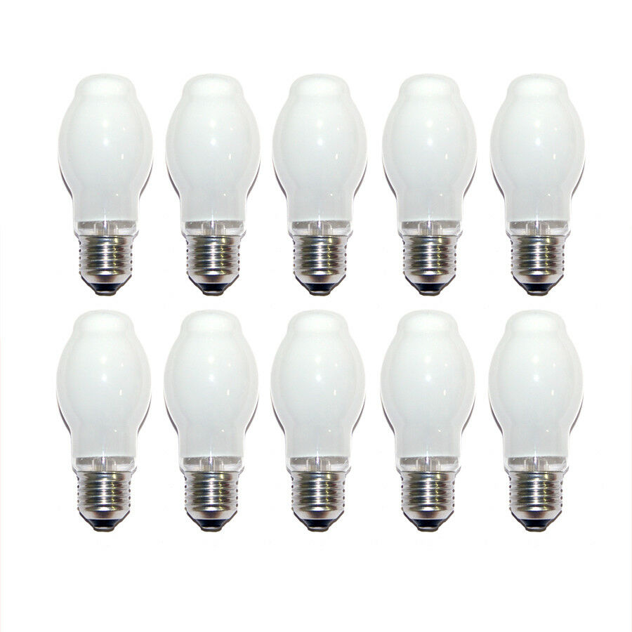 10 x philips halogen 60w e27 opal matt halogena halogenlampe halogenbirne btt 46 ebay. Black Bedroom Furniture Sets. Home Design Ideas