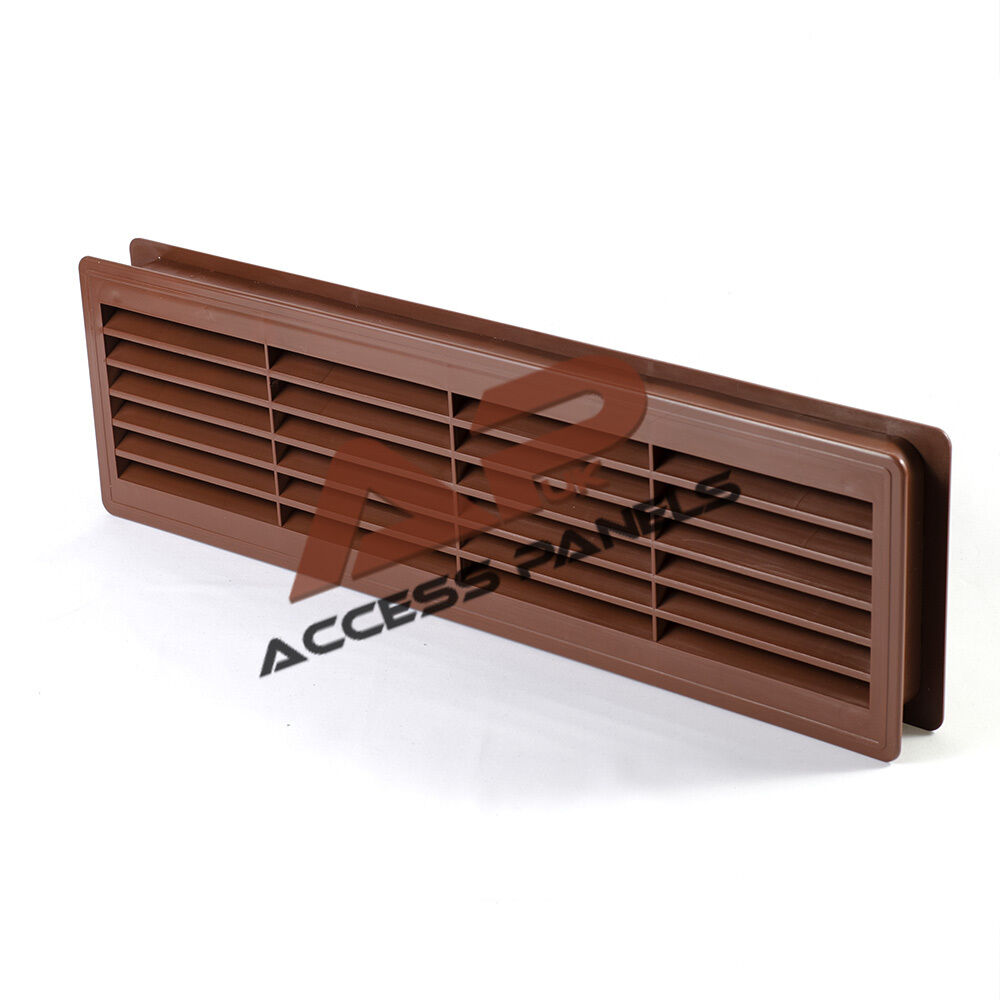 door air vent grille 460x135mm two sided cherry ventilation cover abs plastic ebay. Black Bedroom Furniture Sets. Home Design Ideas