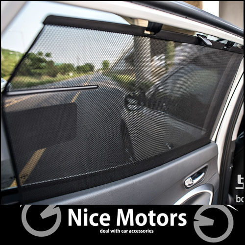 Rear Seat Curtain Blind Sun Shade Assembly For Hyundai