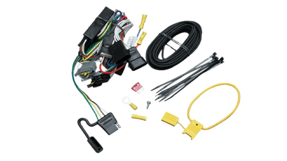 2002 jeep liberty trailer wiring harness t-one 4-way t-connector trailer hitch wiring for 1999-2003 ... #12
