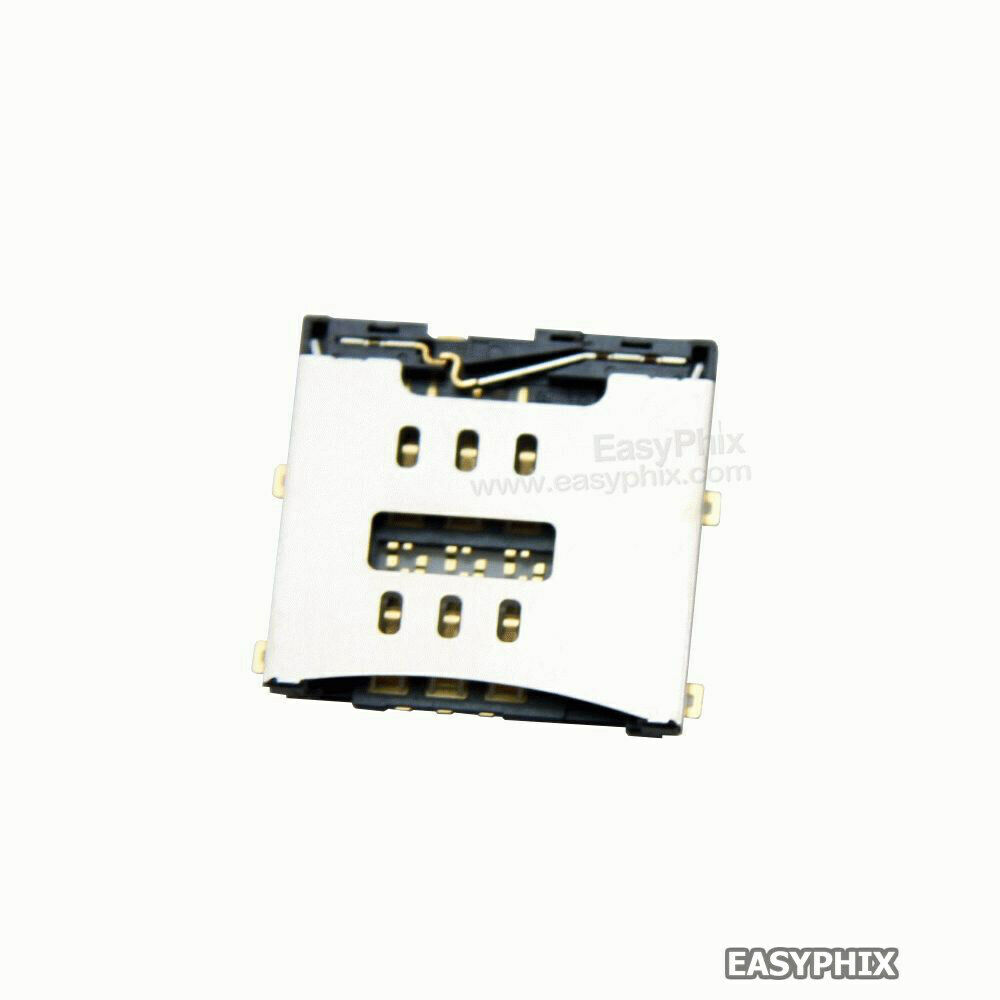 sim card reader junctor slot replacement soldering parts for iphone 4