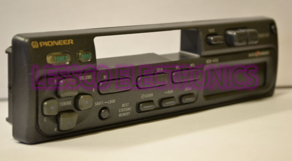 Pioneer deh wiring stereo super tuner iii d