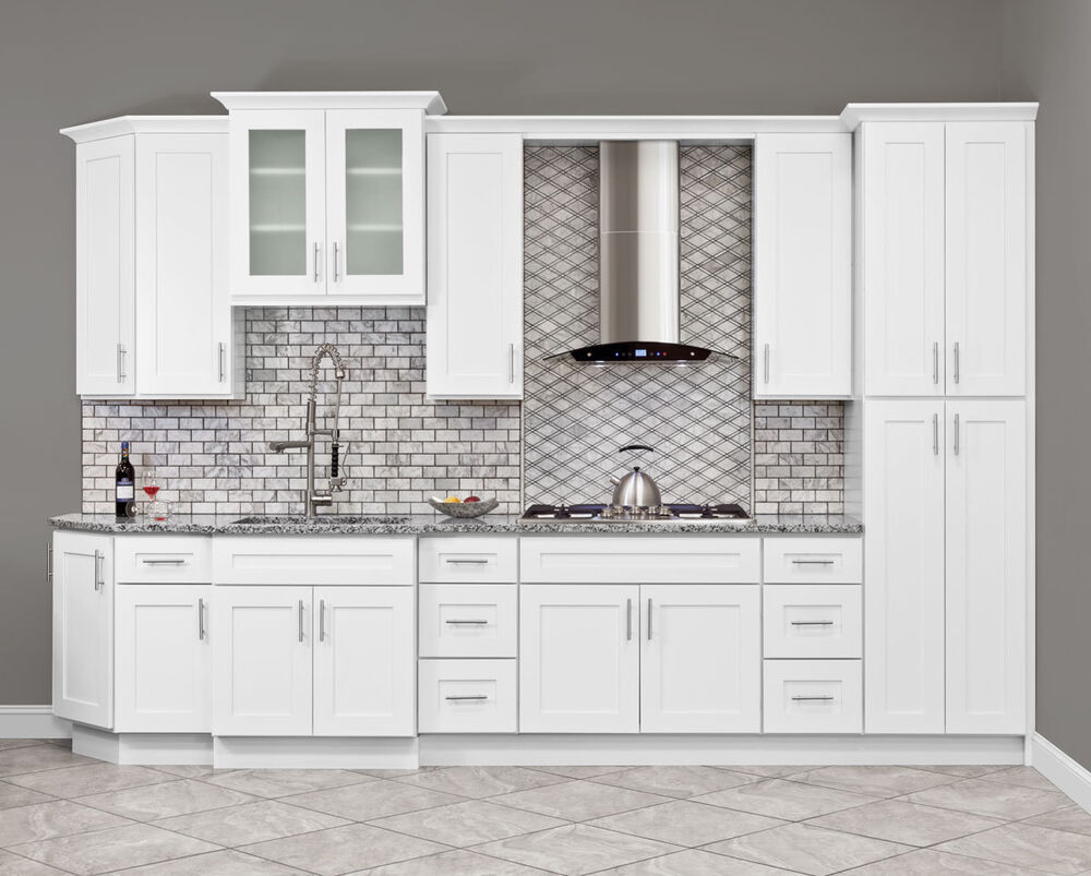 Furniture board kitchen cabinets sierra 10x10 rta ebay for Kitchen cabinets rta