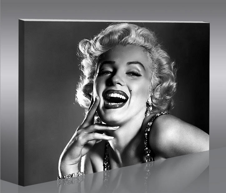 marilyn monroe v8 1p bild auf leinwand bilder kunstdruck. Black Bedroom Furniture Sets. Home Design Ideas