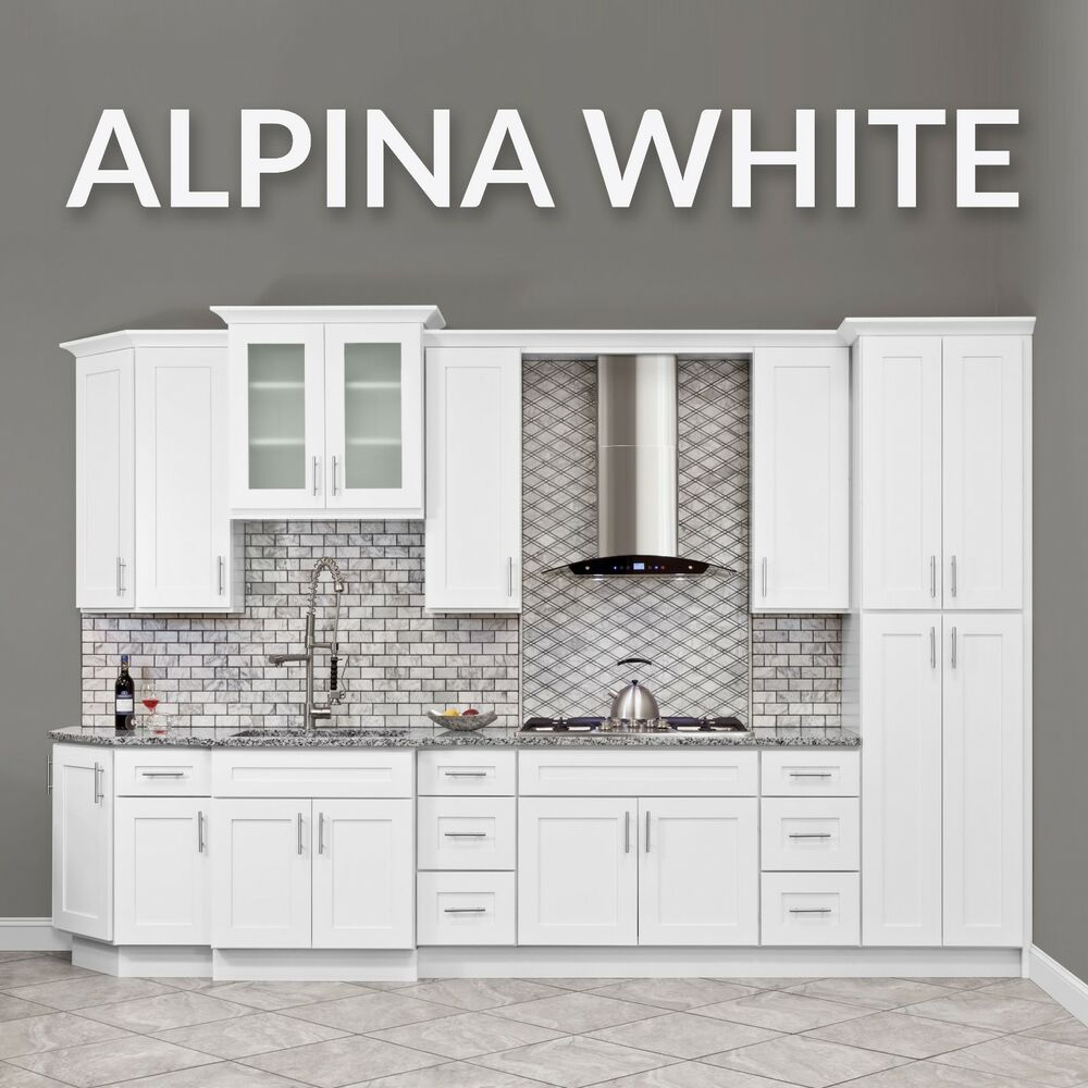 All wood white kitchen cabinets fully upgraded 10x10 group sale ebay - All about kitchens ...