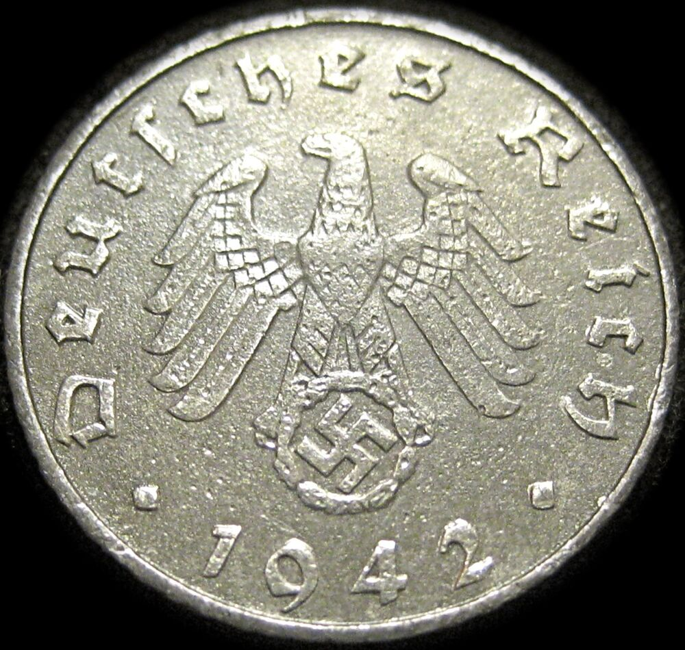 German 3rd Reich German 1942b 5 Reichspfennig Coin