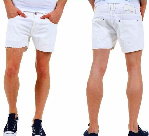 Pantaloni Corti Uomo Shorts  ABSOLUT JOY A962 Tg S M L XL