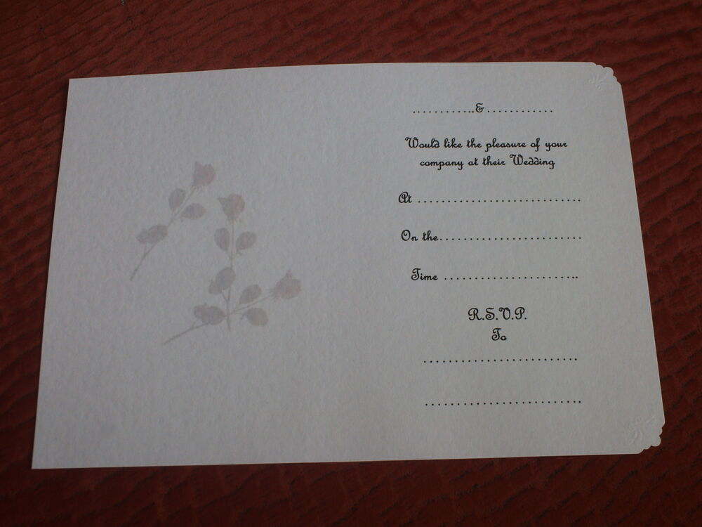Inserts For Wedding Invitations: 50 INSERTS FOR HANDMADE WEDDING INVITATIONS