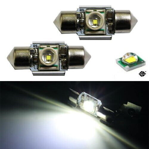 Extremely bright 31mm cree led bulbs for car interior dome lights de3175 de3022 ebay for Led car interior lights ebay